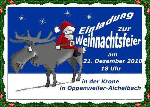 Einladung Weihnachtsfeier Vorlage So Wird S Gemach Wallpaper Pictures ...